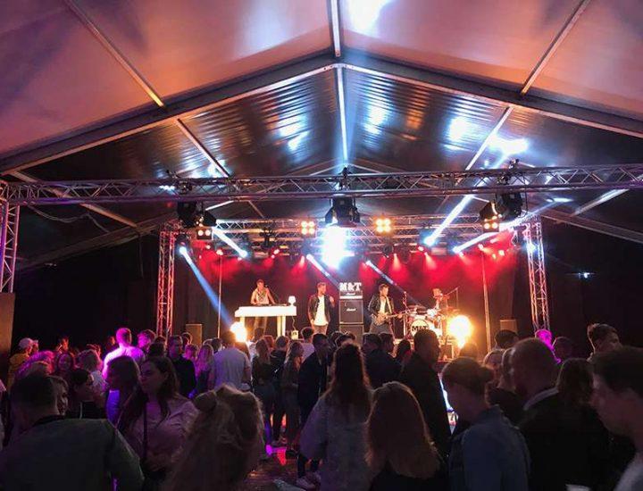 DPL Licht en Geluid - Ballonenfestival feesttent hardenberg