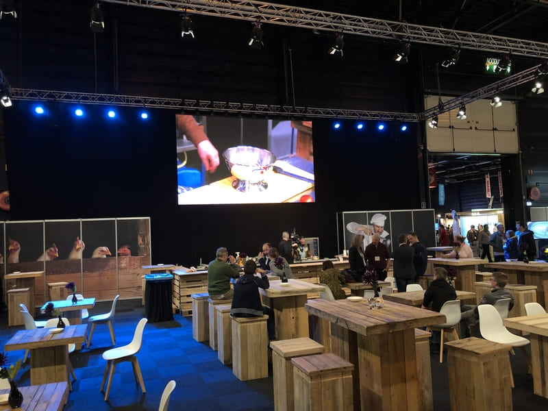 Dutch Poultry Live cooking 2019 - DPL licht en geluid