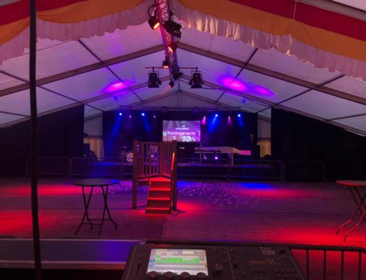 Koningsdag feesttent op de Markt in Hardenberg 2019-2